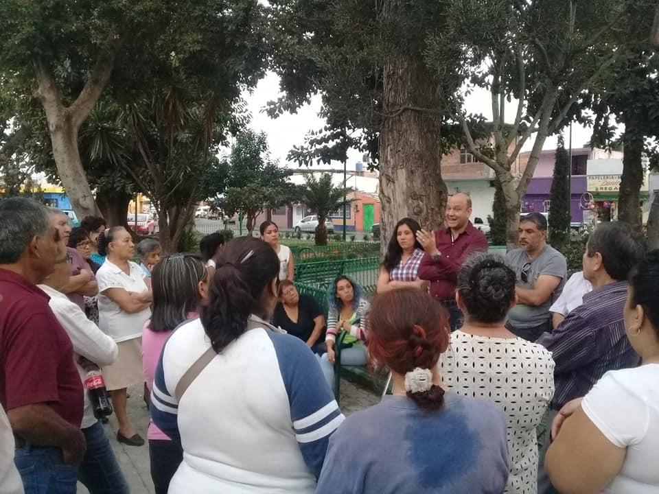 Seguridad evita enfrentamiento entre colonos y tianguistas de Atlixco