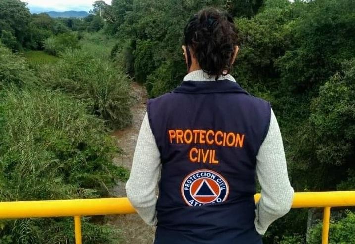 Protección Civil revisa puntos vulnerables por lluvias en Atlixco