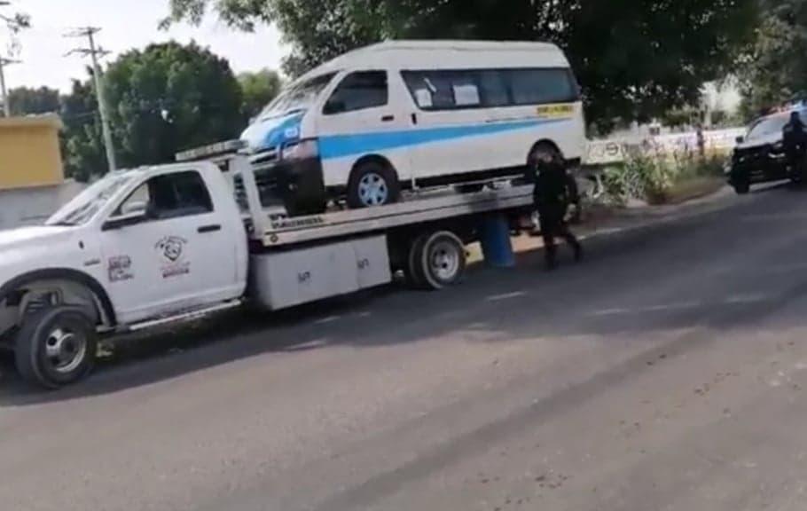 Muere mujer tras ser atropellada por colectiva en Tehuacán