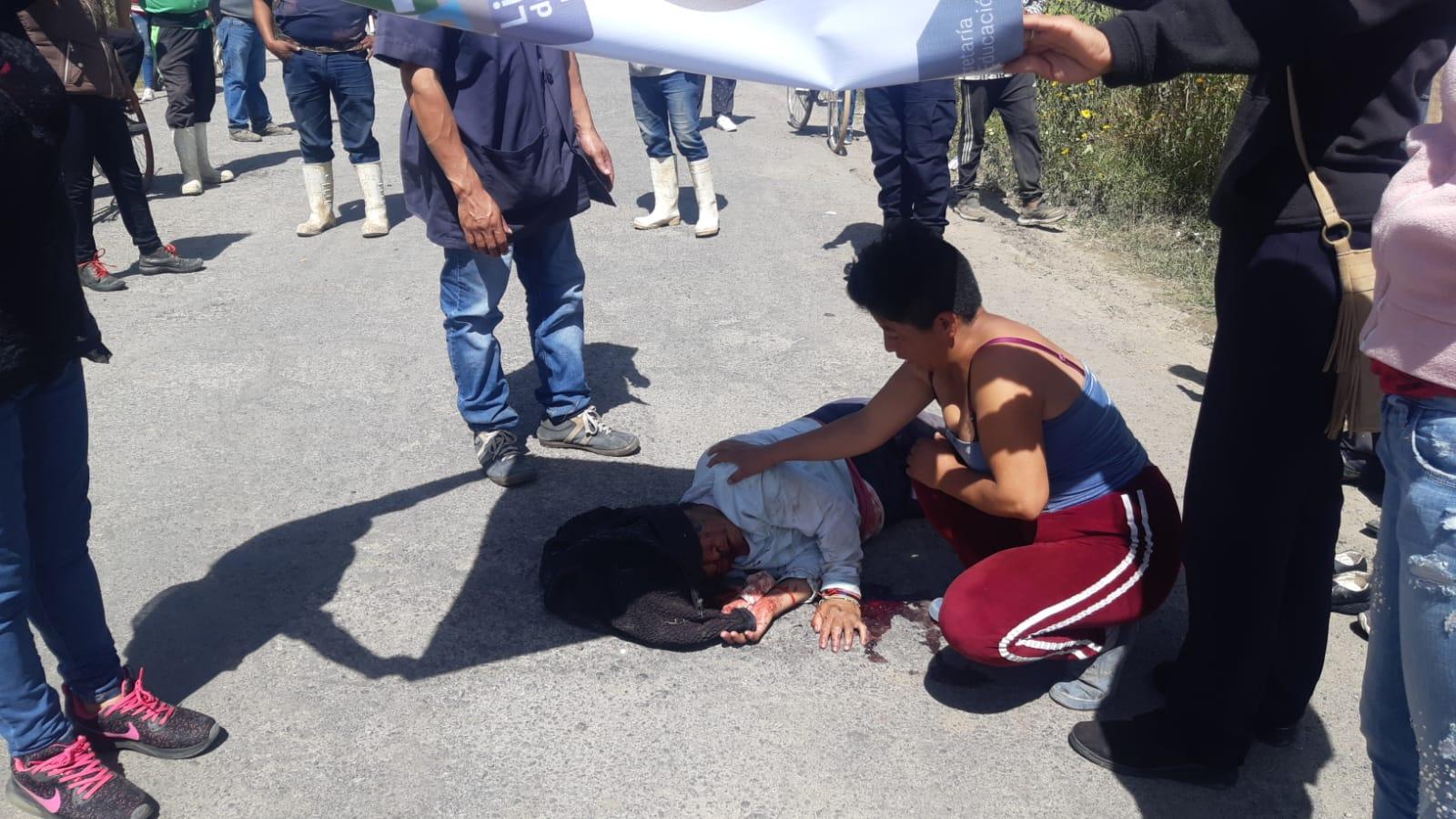 Entrega de ambulancias al estado complica atención de emergencias en Texmelucan