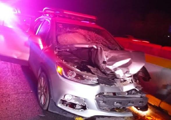 Muere atropellado en la autopista México-Puebla
