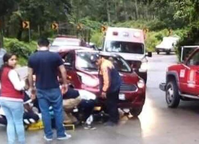 Le pasó encima el auto y se dio a la fuga en Teziutlán