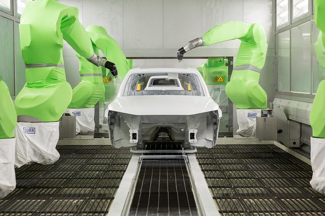Las naves de pintura de Audi, de las más limpias de la industria