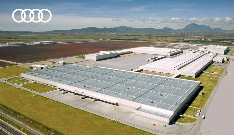 A falta de materiales, Audi se va a paro en Puebla este lunes