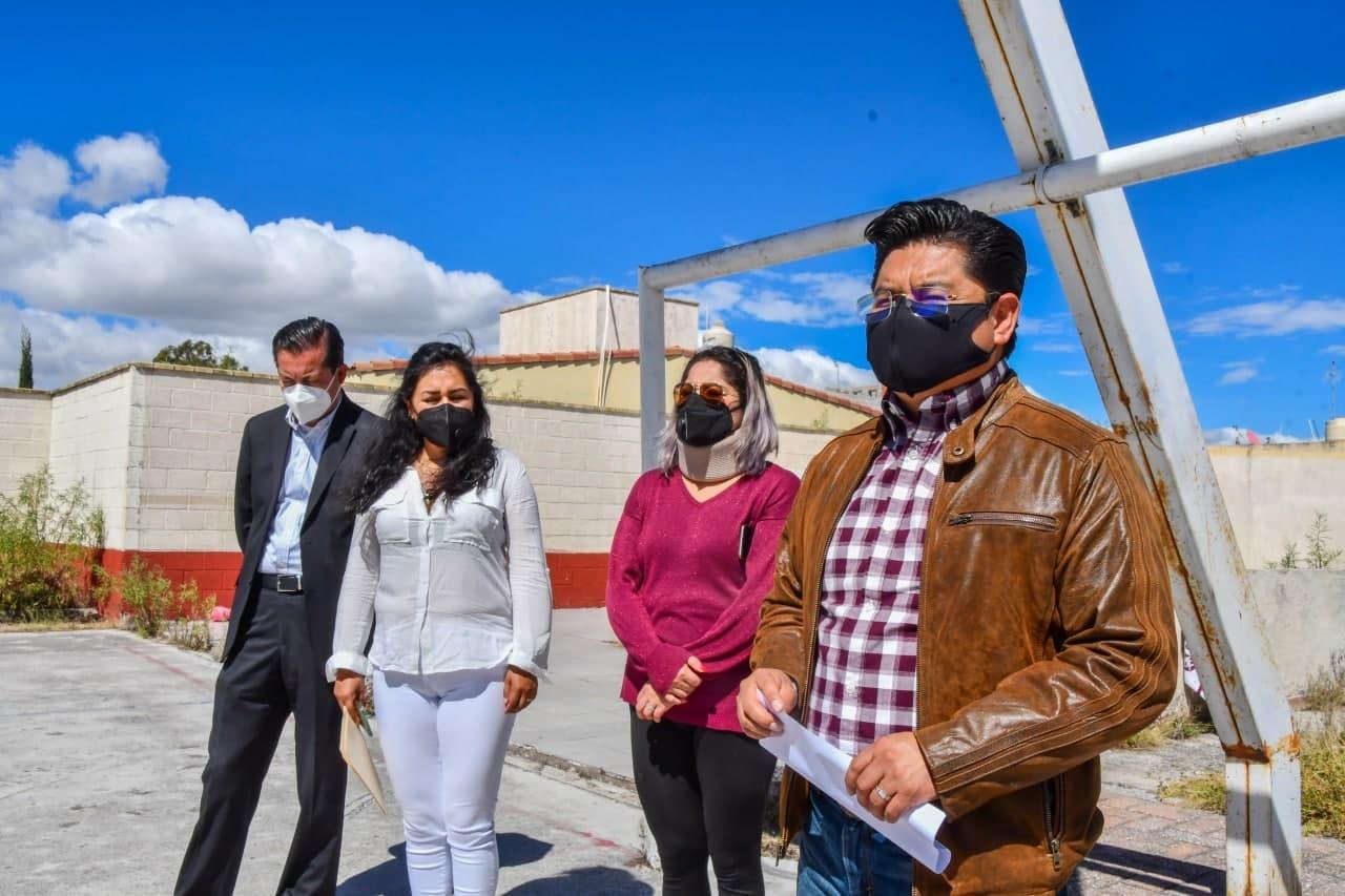 Inicia Teutli construcción de aulas en Misiones de San Francisco
