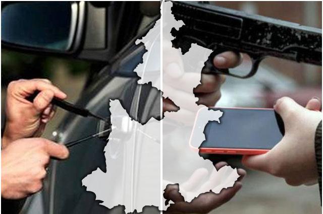 Asaltos, robos y feminicidios dejan 8 víctimas en Puebla