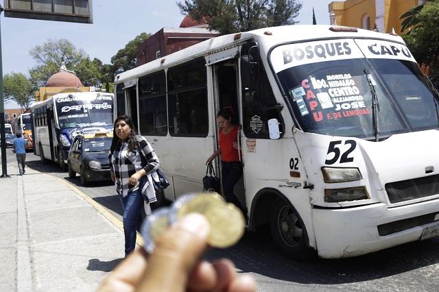 Pacta gobierno tarifa de 8.50 pesos para transporte público
