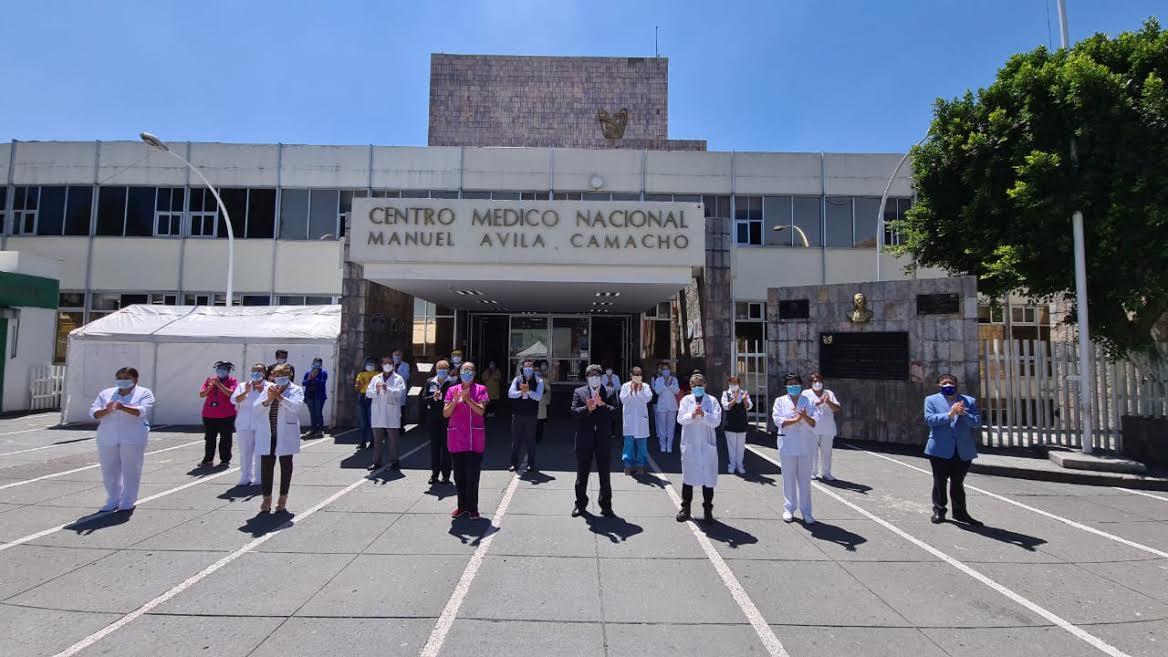 Rinde homenaje en IMSS San José a víctimas del Covid19