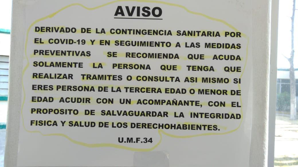 Por restricciones, clínica del IMSS en Atlixco luce vacía