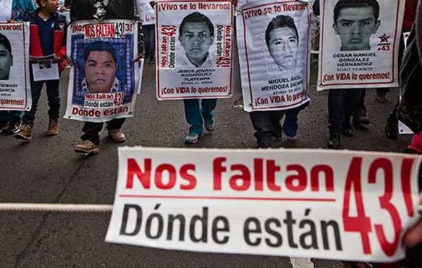 FGR identifica restos de otro estudiante de Ayotzinapa