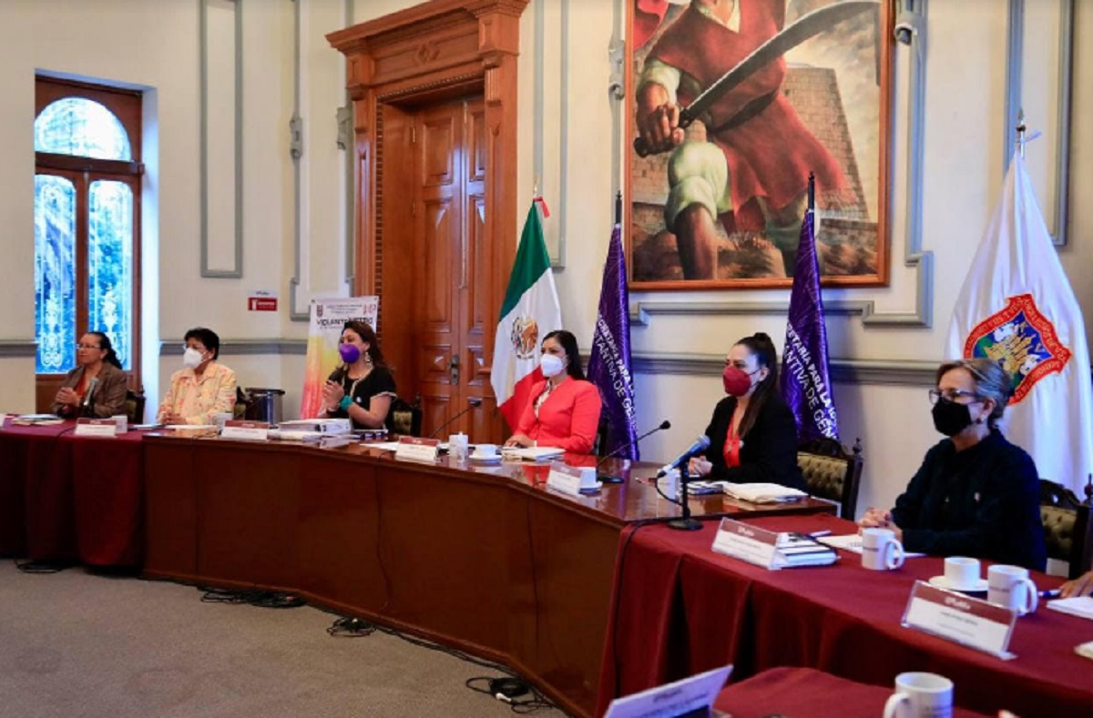 Claudia Rivera instaura grupo interinstitucional contra la violencia de género