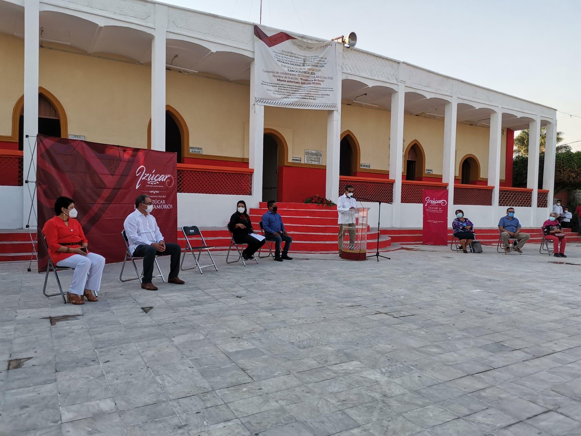 Inauguran reconstrucción de presidencia auxiliar de San Felipe  Ayutla
