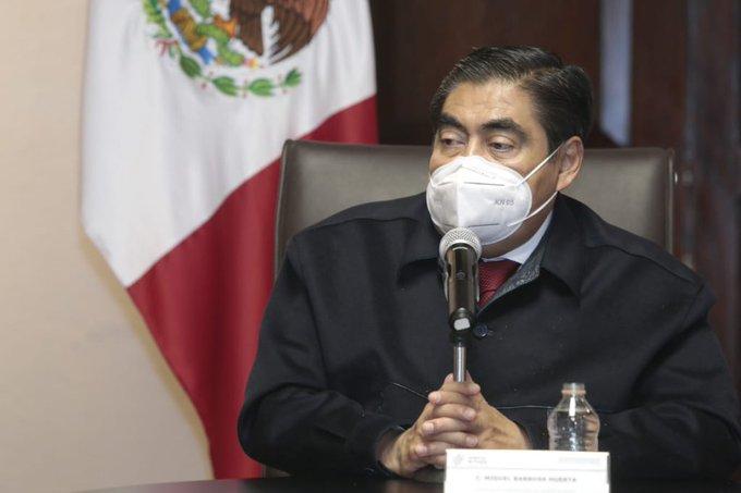En Puebla no se financia ilegalmente renovación del CEN de Morena: Barbosa