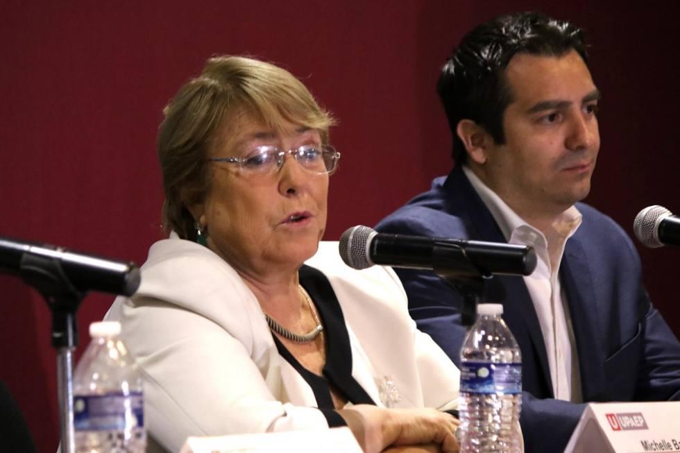 Elección presidencial de México, ejemplar: Bachelet