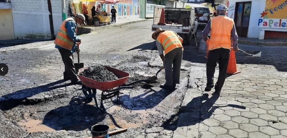 Infraestructura interviene carretera Serdán-San Martín Ojo de Agua