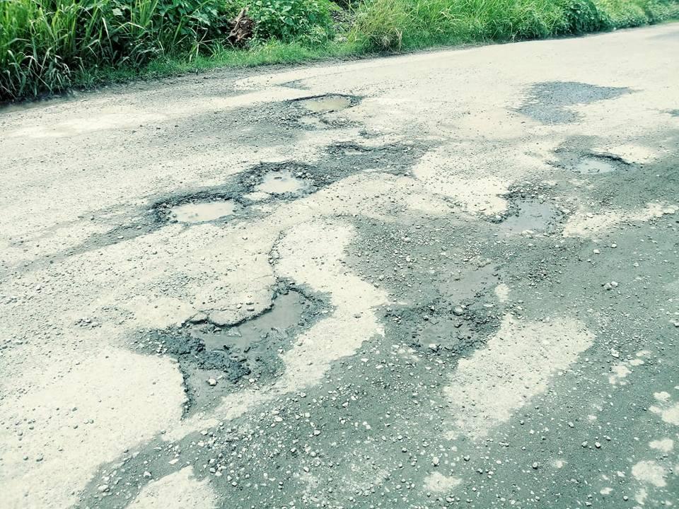 Piden rehabilitar la carretera Agua Dulce-Ojo del Carbón