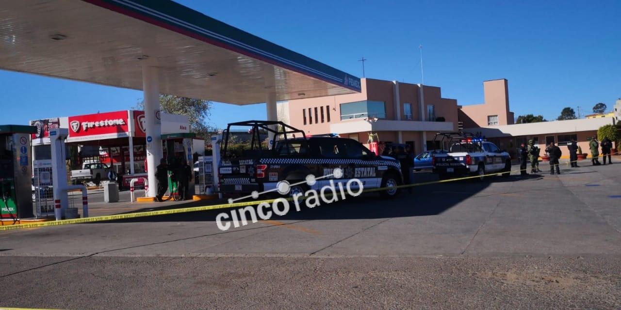 Balacera en gasolinera sobre la federal Puebla-Tlaxcala