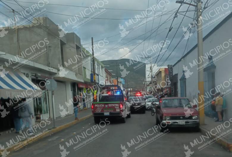 Detonaciones en centro de Tecamachalco moviliza cuerpos de seguridad