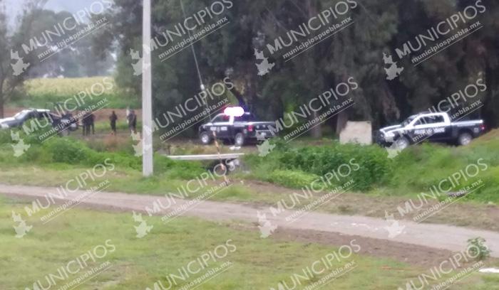 Registran balacera frente a prepa Enrique Cabrera de la BUAP en Tecamachalco