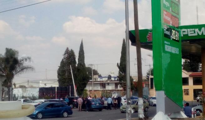 Registran balacera entre hampones y ministeriales en Amozoc