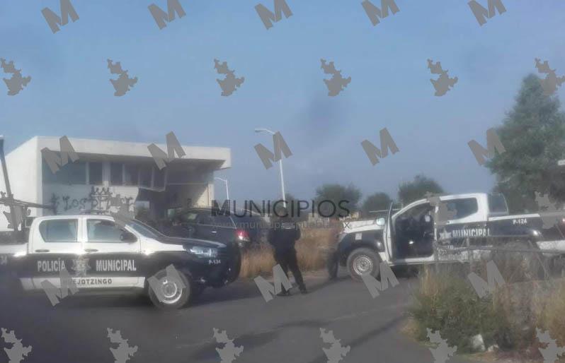 Tras balacera policías de Huejotzingo aseguran a narcomenudistas
