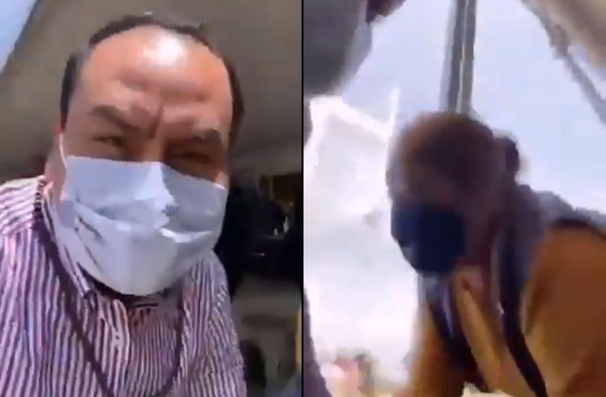 VIDEO A balazos termina presunta compra de votos en Coronango