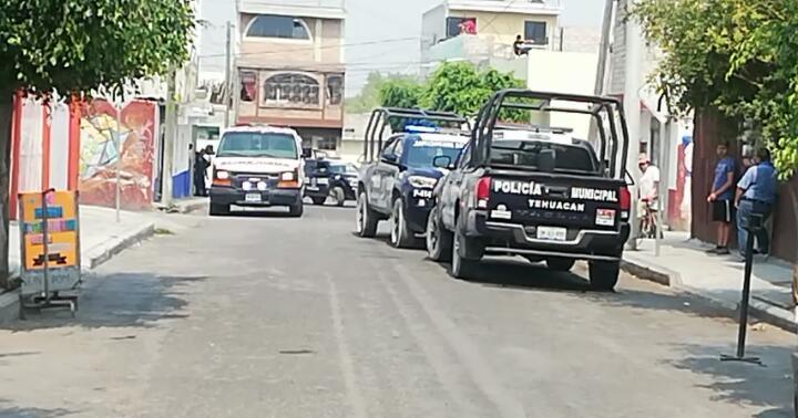 De cinco disparos, lo asesinan a media calle en Tehuacán