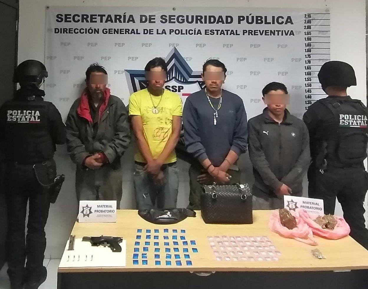 Caen Los Popeyes por robar al transporte público en Puebla