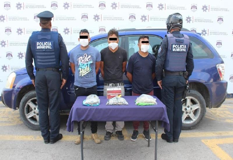 Desarticulan banda dedicada a robo de cuentahabientes en Puebla