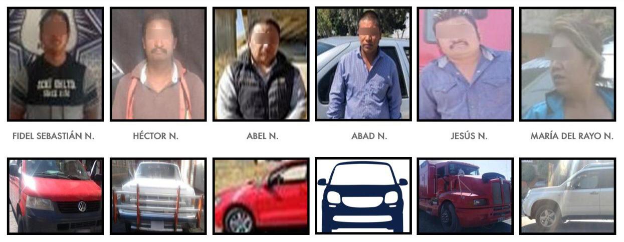 Detienen a 6 personas con autos robados en Amozoc, Chiapa y Tehuacán