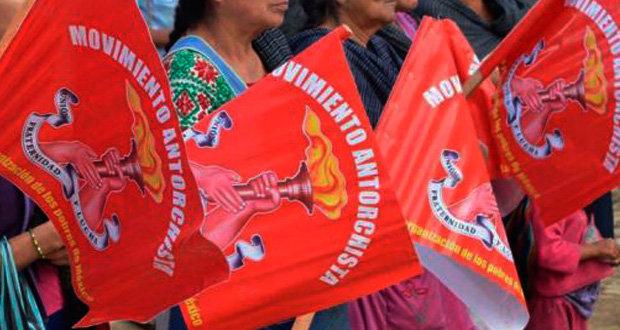 Antorcha Campesina exige a alcaldía de Acatlán cumpla con obra pública