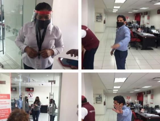 Denuncian a empleados de Banorte de robarle 140 mil pesos a abuelita en Puebla