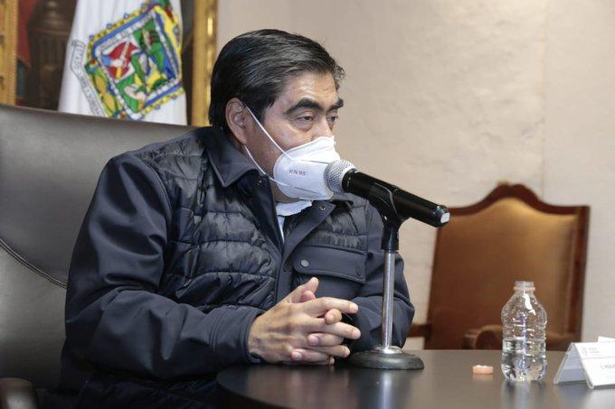 Barbosa se dice satisfecho por mejora en percepción de inseguridad en Puebla