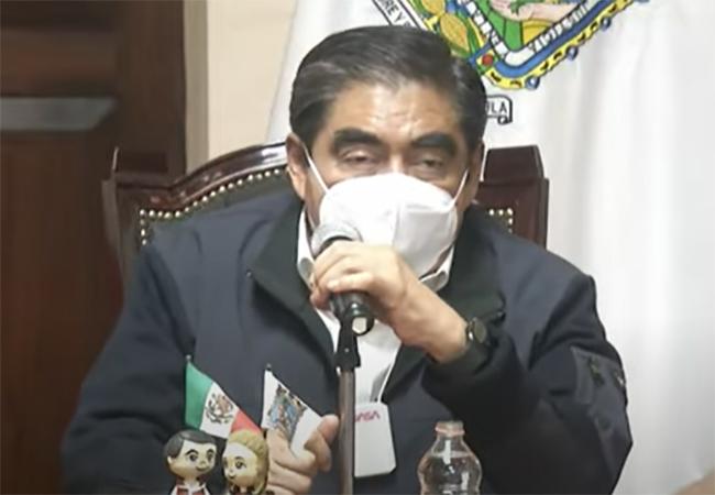 A un año de pandemia, Puebla está en semáforo amarillo en todas sus regiones: Barbosa