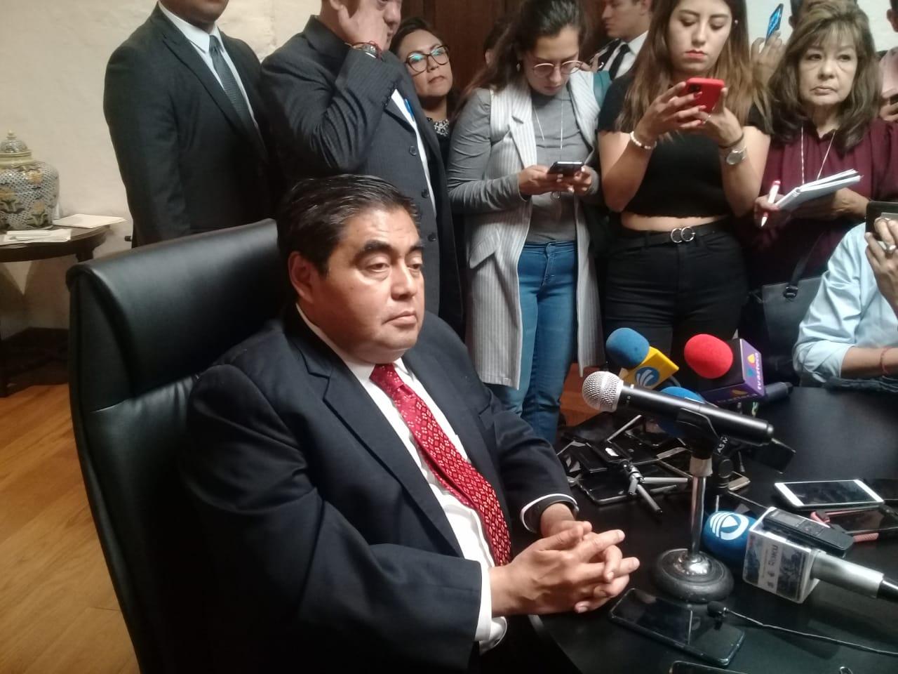 Cuauhtémoc Blanco, con poca voluntad para firmar convenio de seguridad con Puebla