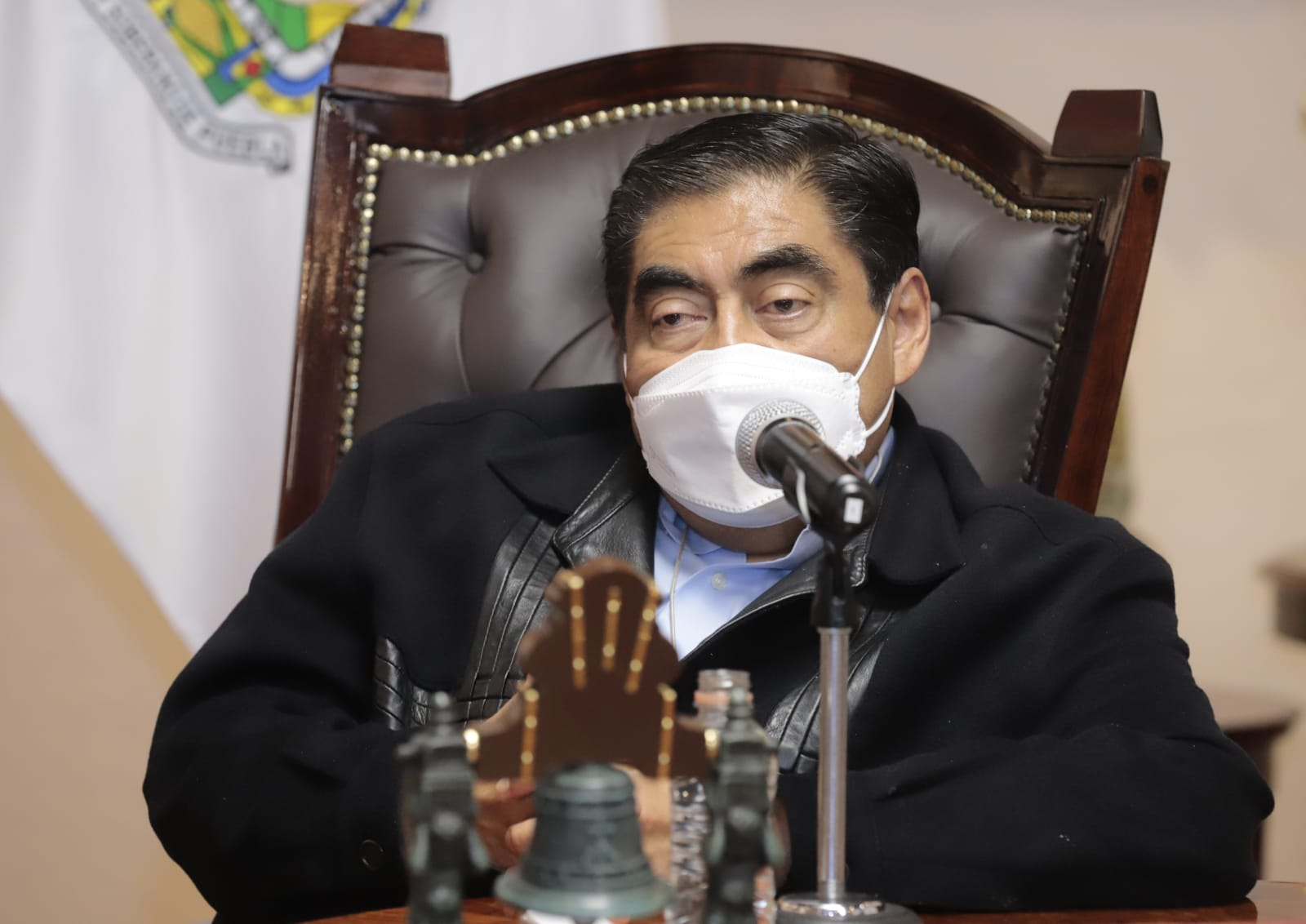 Advierte Barbosa cero tolerancia contra polleros en Puebla