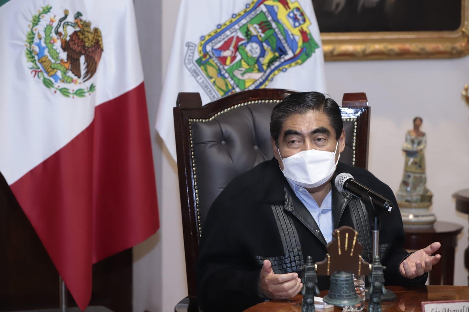 Puebla, sin riesgos o conflictos para toma de protesta de 217 ediles: Barbosa