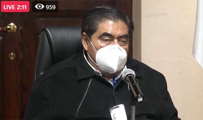 VIDEO Puebla mantiene el promedio de 767 casos activos de covid19