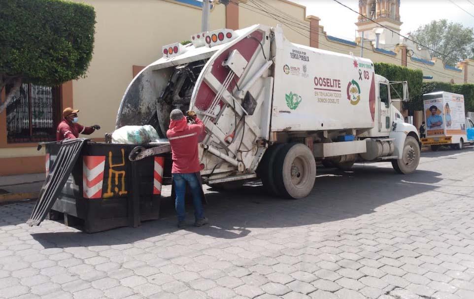 Suspende la empresa Tersa del Golfo recolección de basura en Tehuacán