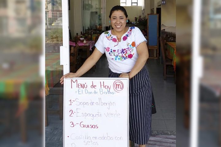 Visita el restaurante de Bertha, la poblana ganadora de Master Chef