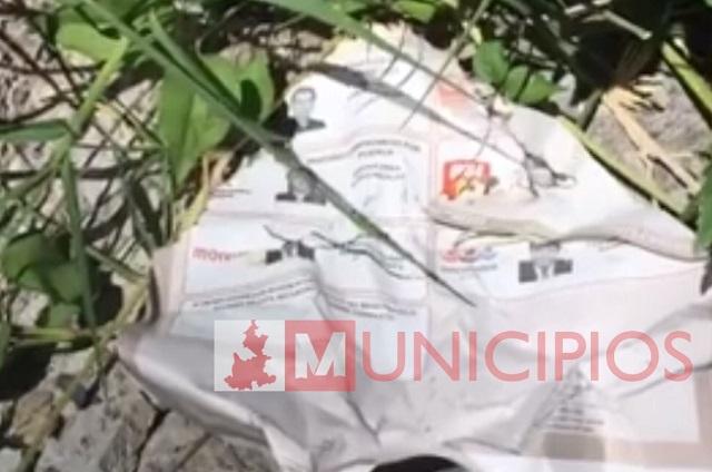 Nadie investiga en Izúcar hallazgo de boletas electorales