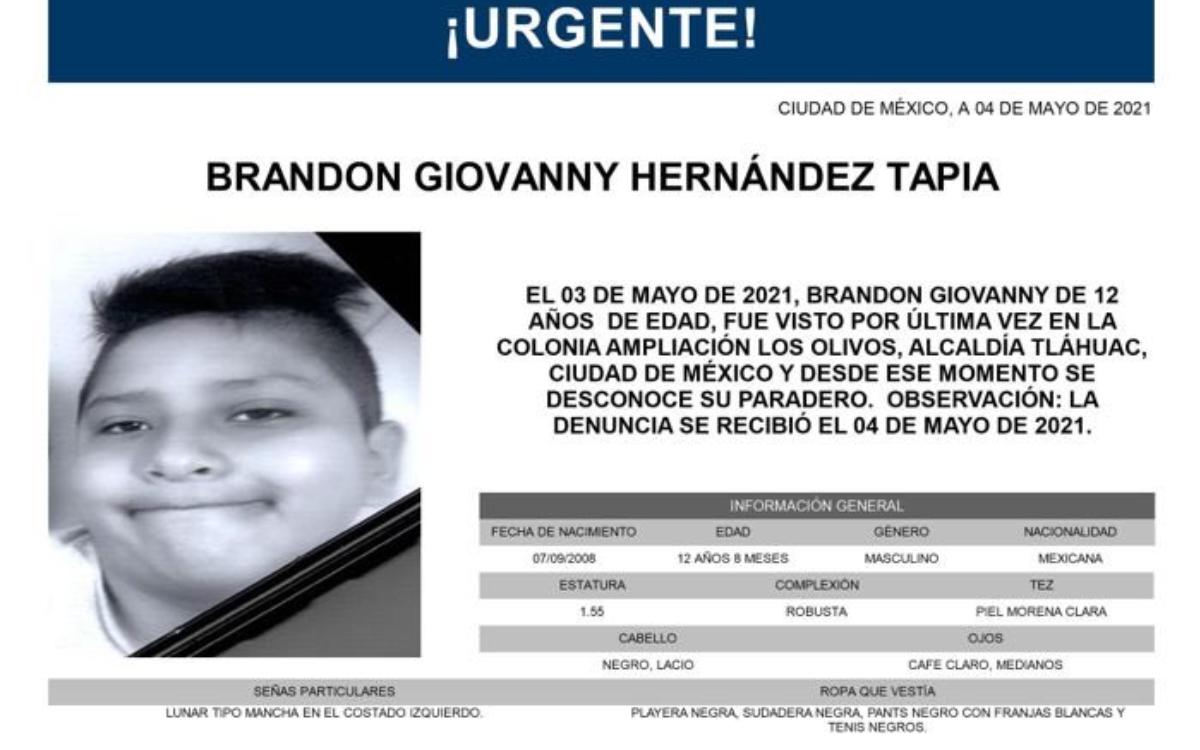 Hallan sin vida a Brandon, el niño de 12 años que iba en el metro colapsado