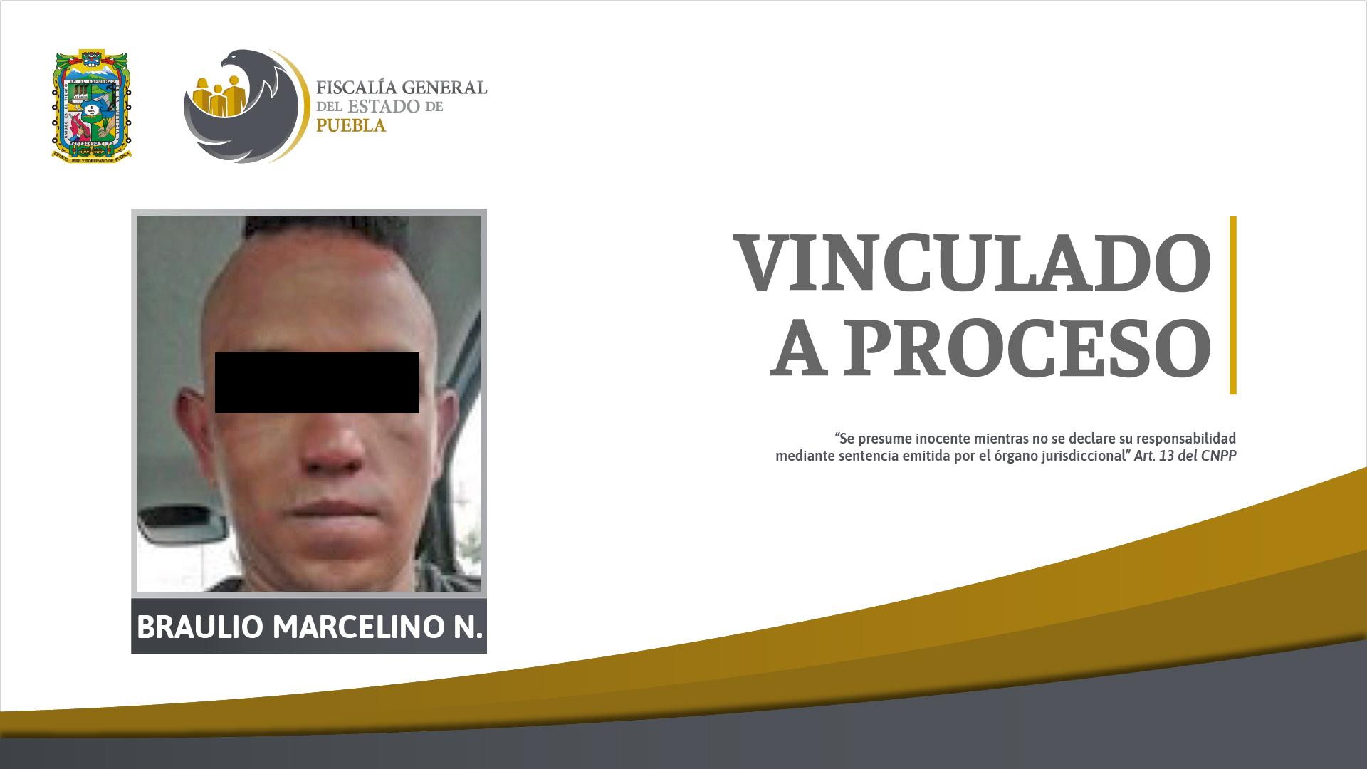 Vinculan a proceso a El Marce por feminicidio de Monserrat