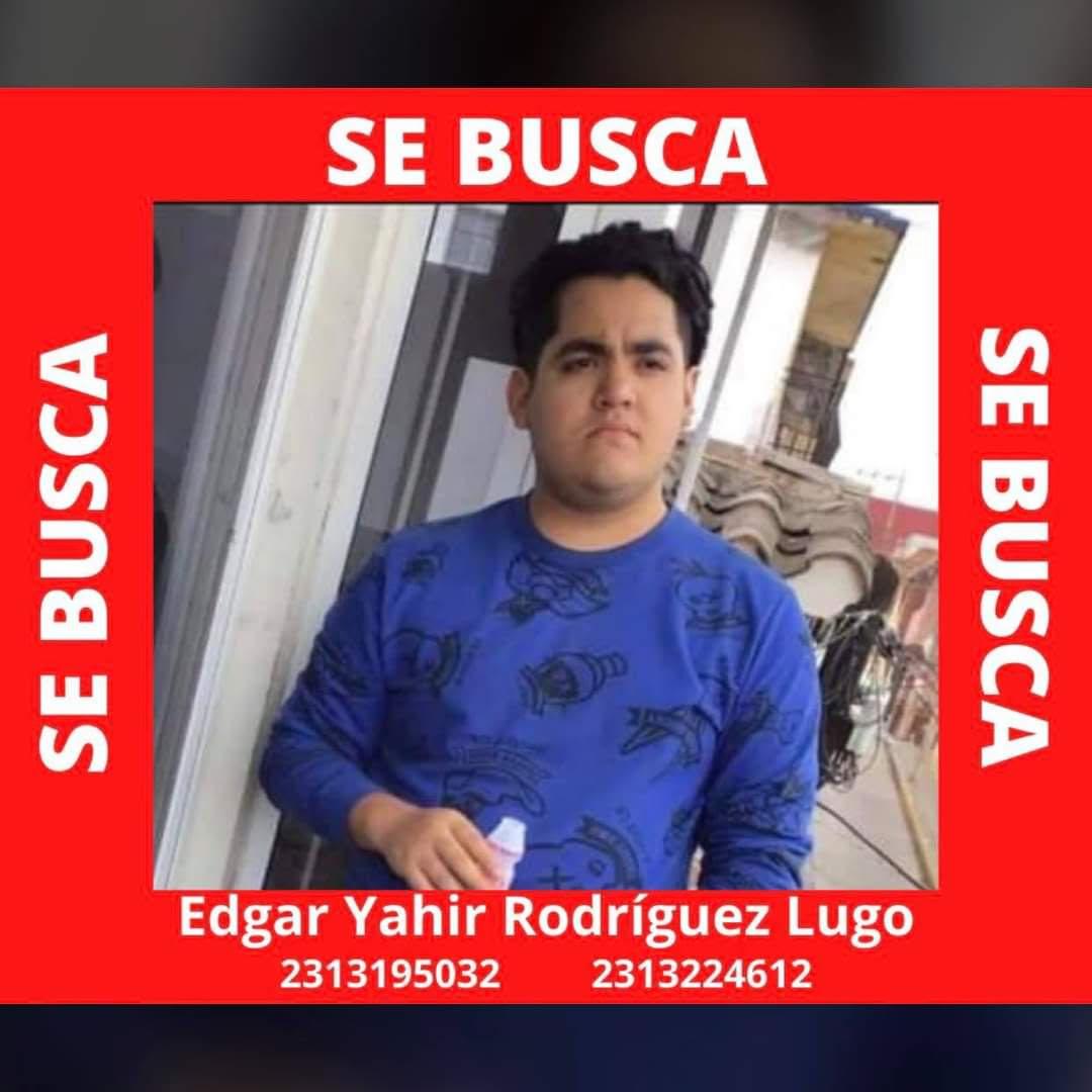 Yahir Rodríguez de 18 años desapareció en Teziutlán; su familia lo busca
