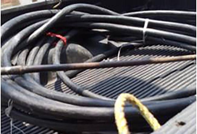 Cae en Puebla banda dedicada al robo de cable de Telmex