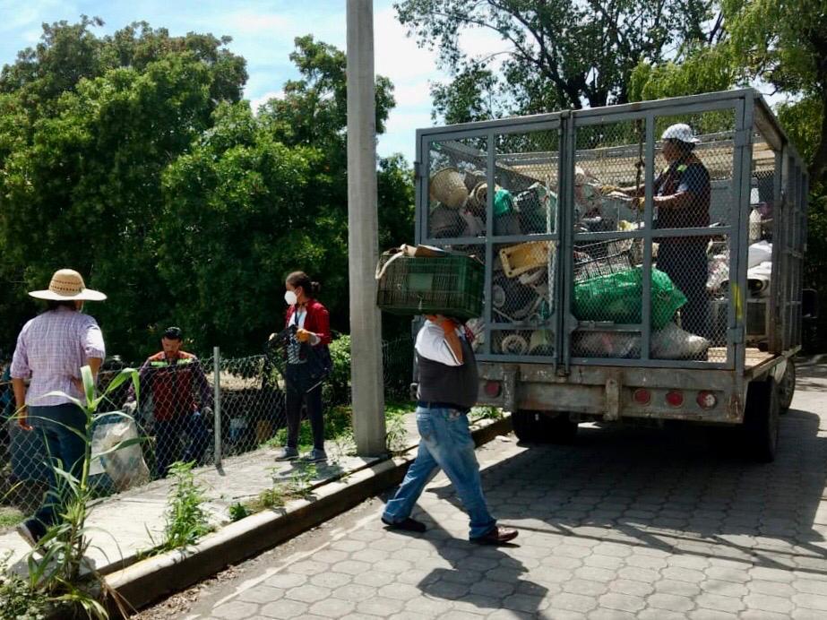Recogen en Tehuacán 240 toneladas de cacharro y detectan 140 casos de dengue