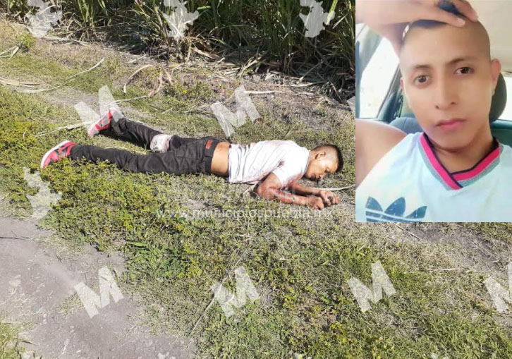 Identifican cadáver de joven hallado en Chietla con dedos mutilados