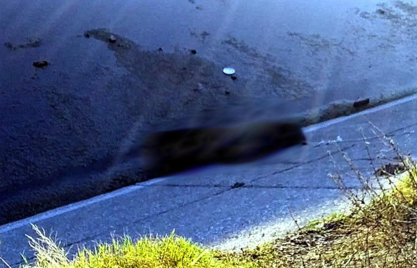 Tiran ejecutado al canal de Valsequillo en Huixcolotla