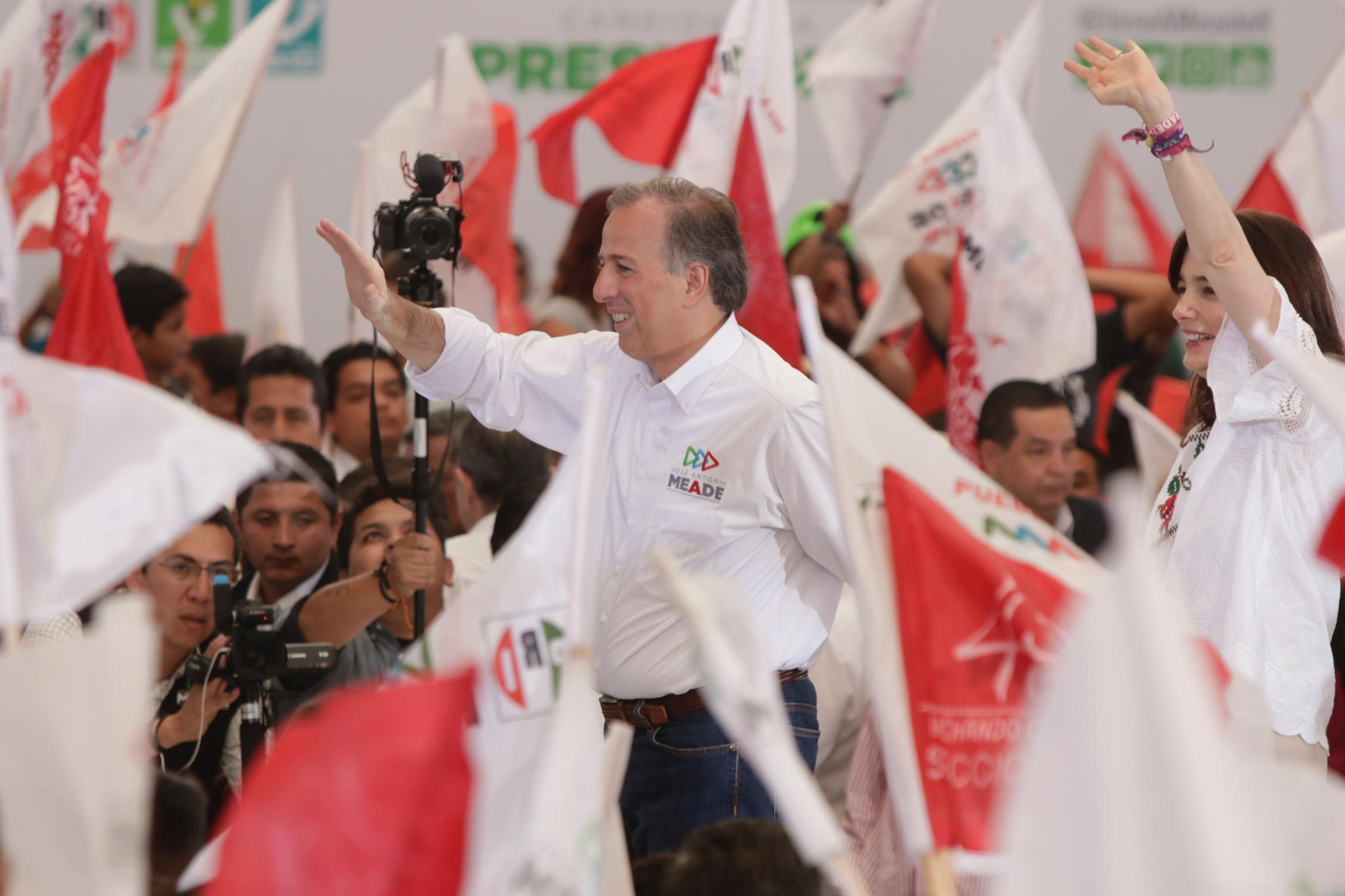 Evitar reelección disfrazada en Puebla, pide Meade en Atlixco