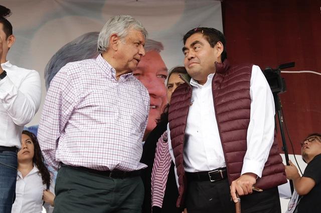Defiende Barbosa resultados de AMLO en 2 años de gobierno